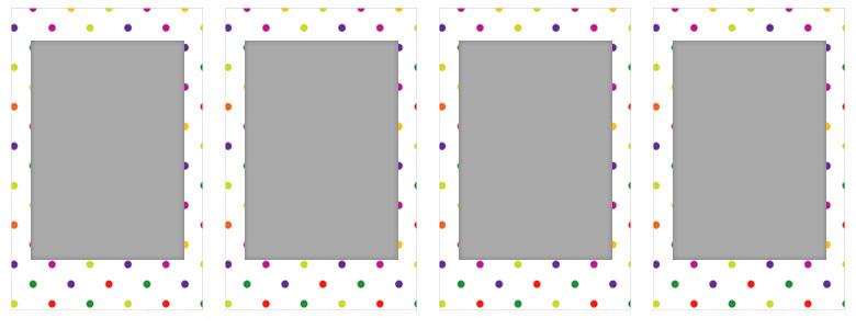 チェキ専用フィルム 絵柄入りフレームタイプ(キャンディーポップ) candypop01-04