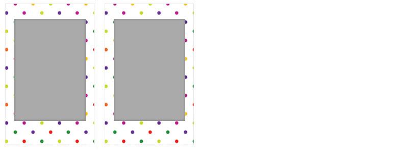 チェキ専用フィルム 絵柄入りフレームタイプ(キャンディーポップ) candypop09-10