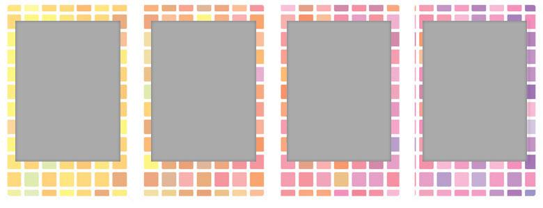 チェキ専用フィルム 絵柄入りフレームタイプ(ステンドグラス) stainedglas05-08