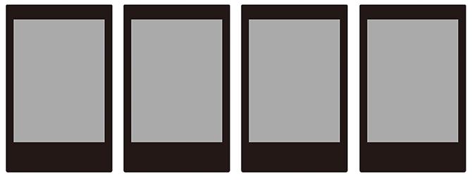 チェキ専用フィルム ブラック black_display1