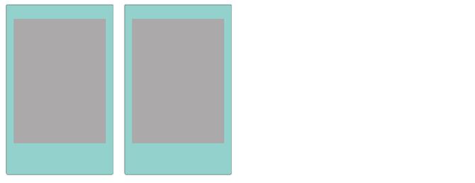 チェキ専用フィルム スカイブルー skyblue_display2